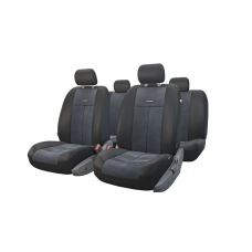 Чехлы на сиденья передние и задние Autoprofi TT-V series (черный)