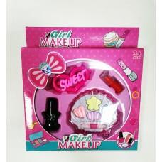Набор детской декоративной косметики Girl MakeUp 6690
