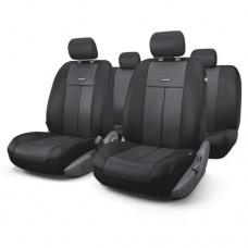 Чехлы на сиденья передние и задние Autoprofi TT-M series (черный)