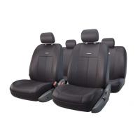 Чехлы на сиденья передние и задние Autoprofi TT series (черный)
