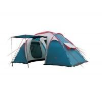 Палатка CampGear Sports MOON (Campack Tent) четырехместная 2 комнаты тамбур навес двухслойная