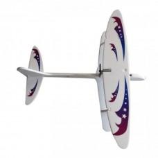 Самолет из пенопласта с винтом на аккумуляторе