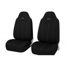 Чехлы на сиденья передние GTL APEX Front (Черный)
