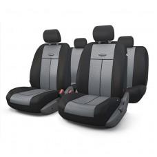 Чехлы на передние и задние сиденья Autoprofi TT-M series (черный/серый)