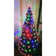 Искусственная светодиодная елка со снегом 240 см