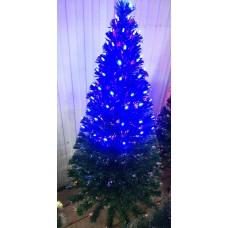 Искусственная Елка с синими огоньками 150 см