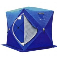 Палатка КУБ утепленная Улов 1802 для зимней рыбалки со слоем холофайбера 180*180*180 трехслойная четырехместная