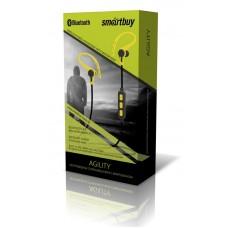 Внутриканальная Bluetooth-гарнитура AGILITY Smartbuy черно-желтая