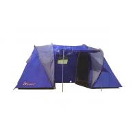Палатка Lanyu LY 1699 Четырехместная 2 комнаты с тамбуром и навесом